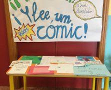 Exposición de cómics de los alumnos de 6º