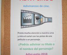 ADIVI-CINE 2 (BIBIO-PATIO EN EL SEGUNDO TRIMESTRE)