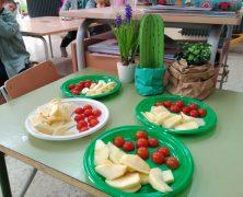 Reparto de frutas y verduras
