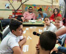 """Desayuno en Radio Calatrava y Gymkhana """"Aprendo a refugiar"""""""