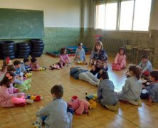 Alumnos de 4 y 5 años Reciben clases de Primeros Auxilios