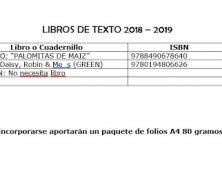LIBRO DE TEXTO CURSO 2018-2019