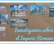 Investigamos sobre el Imperio Romano