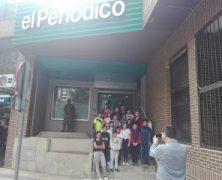 Visita al Periódico Extremadura