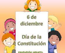 CELBRACIÓN DÍA DE LA CONSTITUCIÓN EN INFANTIL.