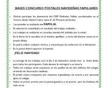 IX CONCURSO DE POSTALES NAVIDEÑAS FAMILIARES