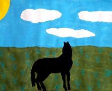 VII Concurso de sueños: Caballo negro