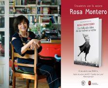 La escritora Rosa Montero vendrá a nuestro instituto y Alburquerque verá el preestreno de su obra