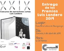 """La entrega de """"Premios Luis Landero"""" se celebrará el 11 de abril"""