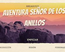 BREAKOUT EL SEÑOR DE LOS ANILLOS