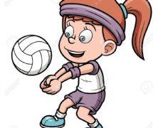 Taller de voleibol en la Semana Europea del del Deporte