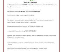 CONCURSO DE POSTALES NAVIDEÑAS FAMILIARES 2019
