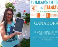 Ganadoras de la II Maratón Lectora en Librarium
