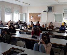 Los alumnos de 1º de Bachillerato celebran el Día de las Bibliotecas