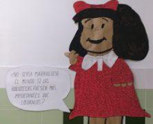 Día Internacional de la Biblioteca. Homenaje a Quino y su creación : Mafalda