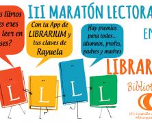 Maratón Lectora en Librarium: nueva convocatoria