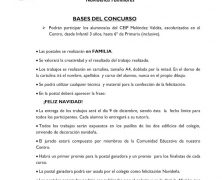 X CONCURSO DE POSTALES NAVIDEÑAS FAMILIARES-NAVIDAD 2020
