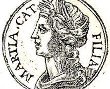 Condición de mujer en Roma. El caso de Marcia, la mujer de Catón de Útica